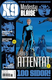 Agent X9 6 nro lehtitarjoukset