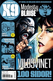 Agent X9 6 nro lehti tarjous