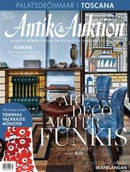 Antik & Auktion 3 nro lehti tarjous