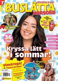 Buslätta Korsord 6 nro lehti tarjous