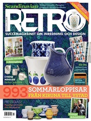 Scandinavian Retro 3 nro lehti tarjous