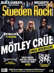 Sweden Rock Magazine 12 nro lehti tarjous