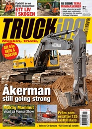 Trucking Scandinavia 6 nro lehti tarjous