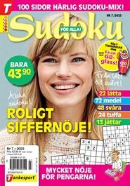 Sudoku för alla 3 nro lehti tarjous