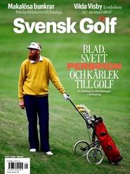 Svensk Golf 5 nro lehti tarjous